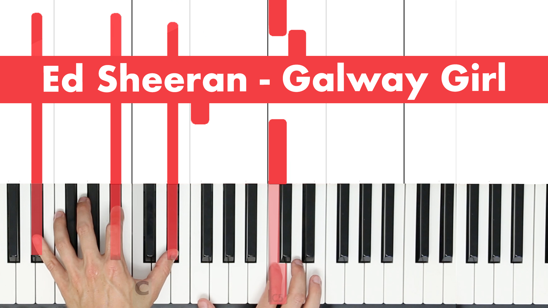 Ed Sheeran – Galway Girl – Vocal