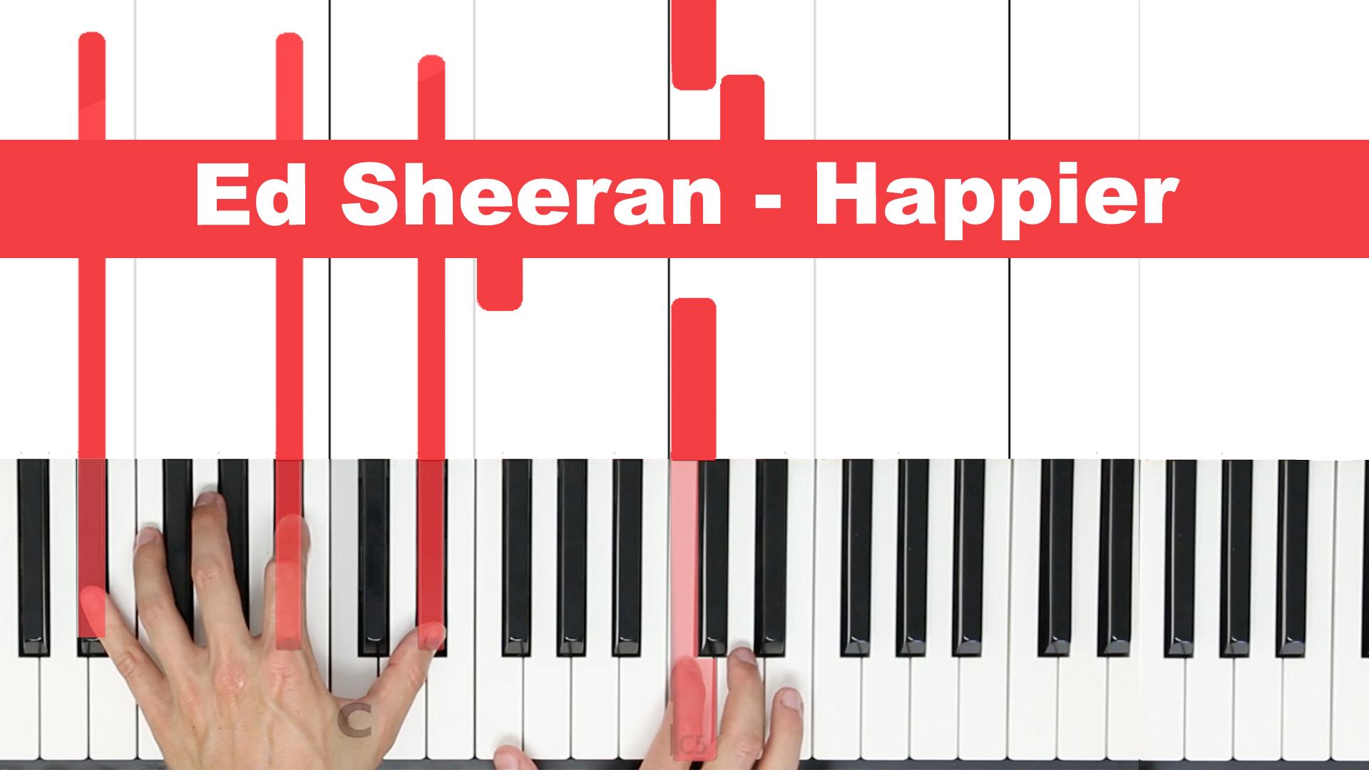 Ed Sheeran – Happier – Easy