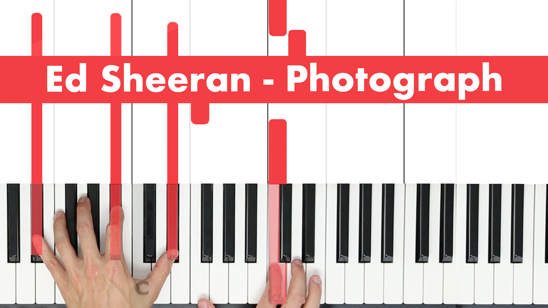 Ed Sheeran – Photograph – Play Vocal