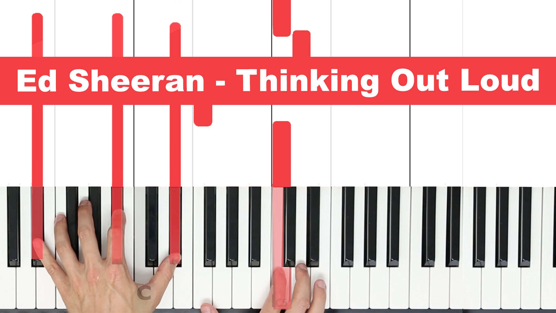 Ed Sheeran – Thinking Out Loud – Easy