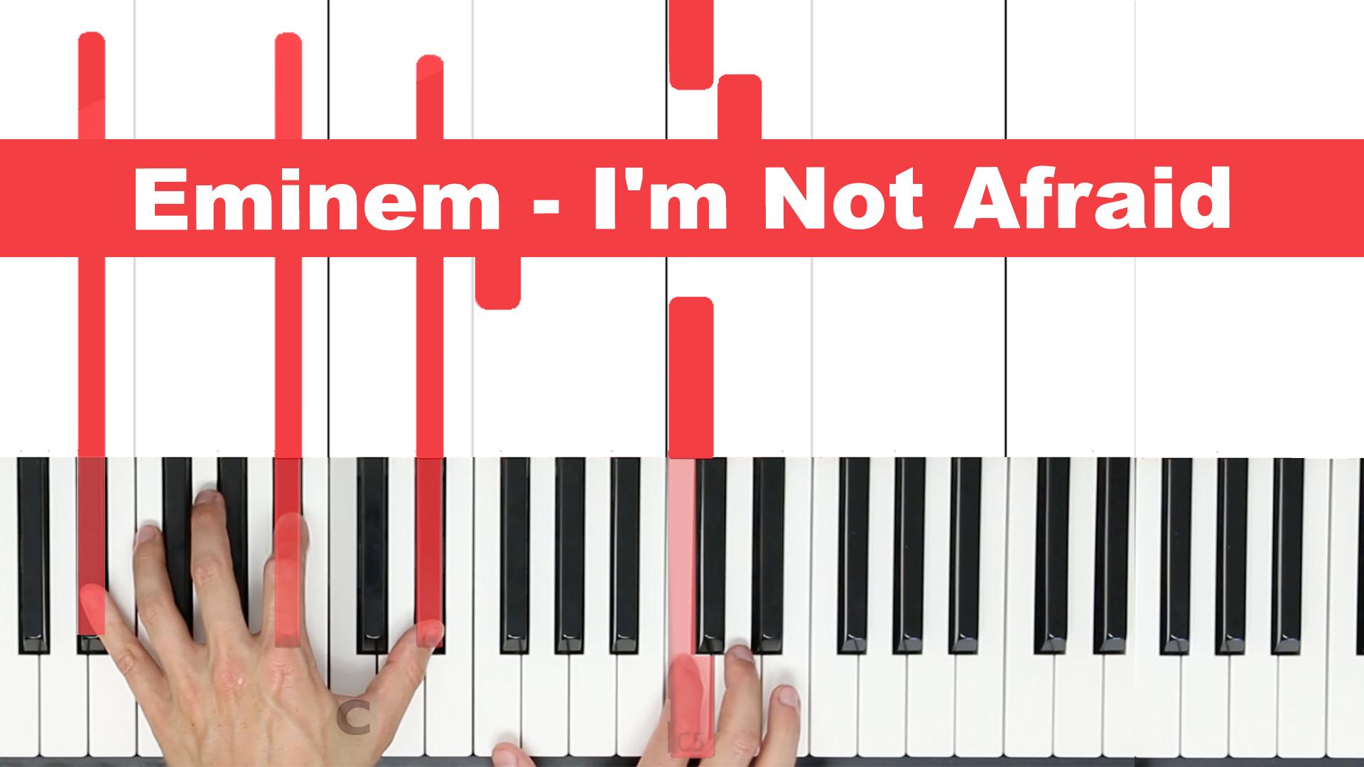 Eminem – I'm Not Afraid – Easy