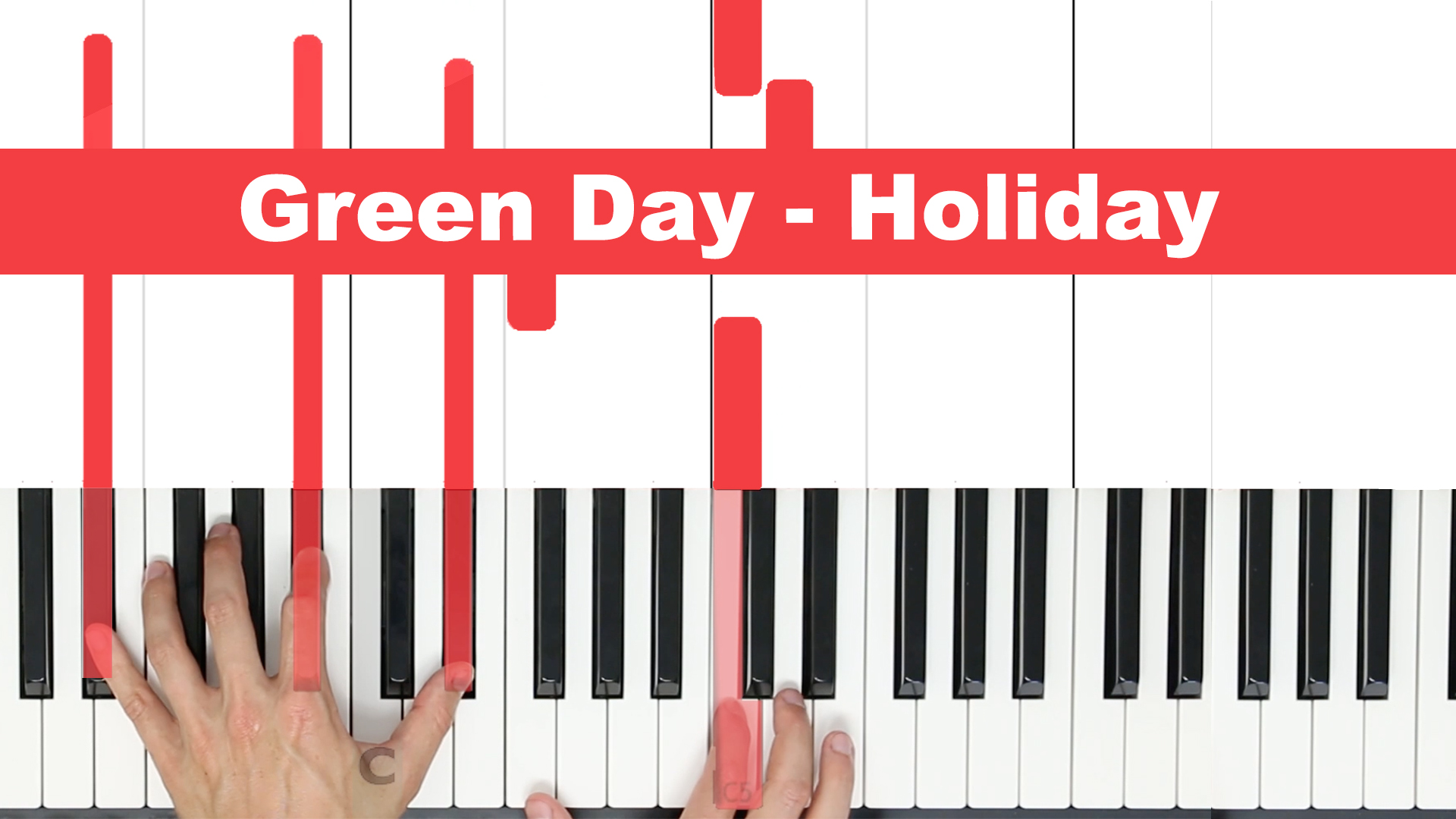 Green Day – Holiday – Easy