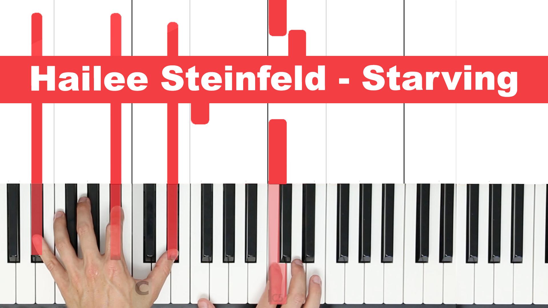 Hailee Steinfeld – Starving – Easy