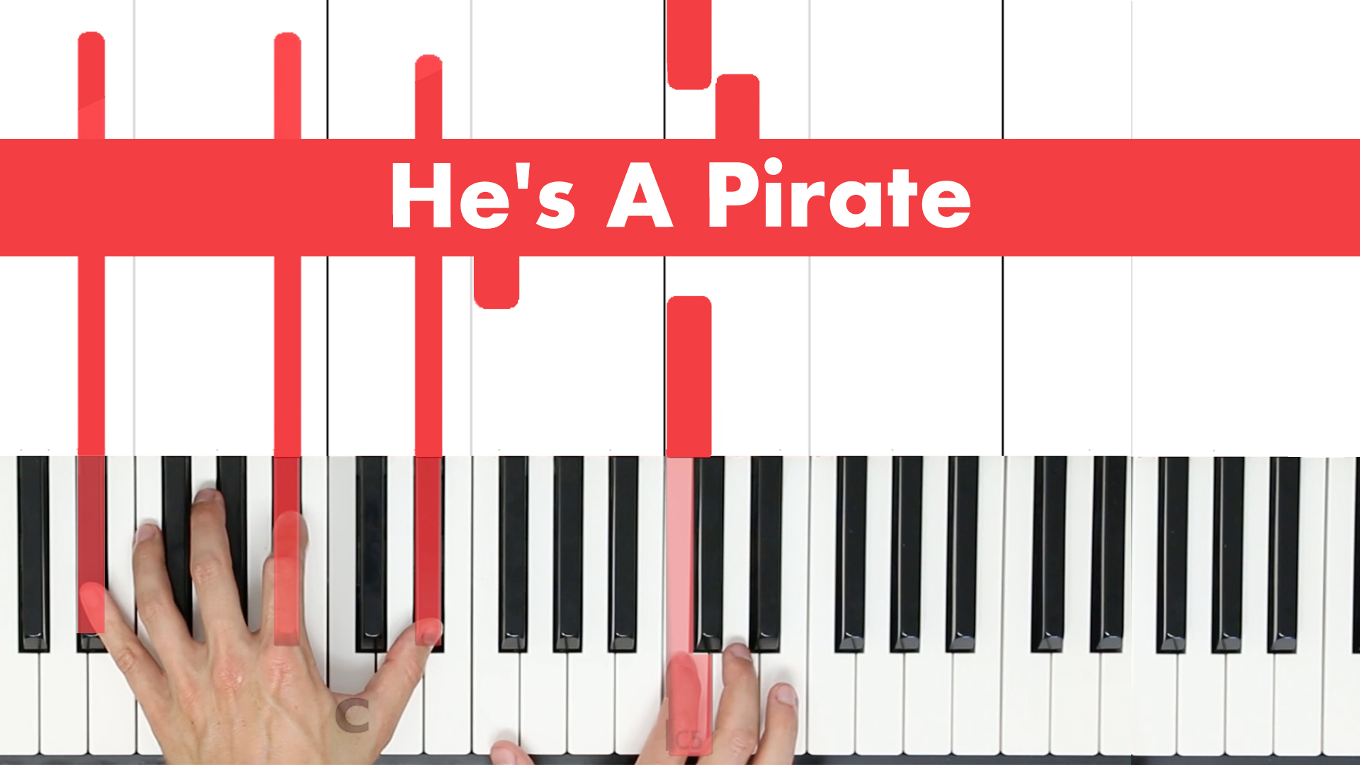 He's A Pirate – Original