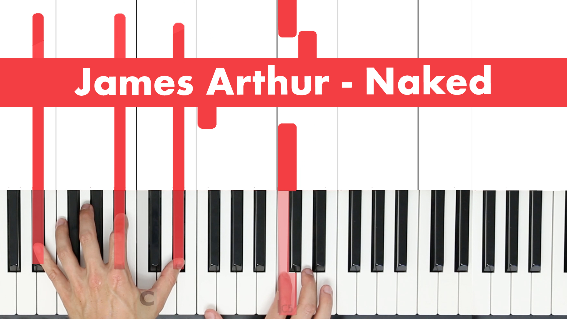 James Arthur – Naked – Play Vocal