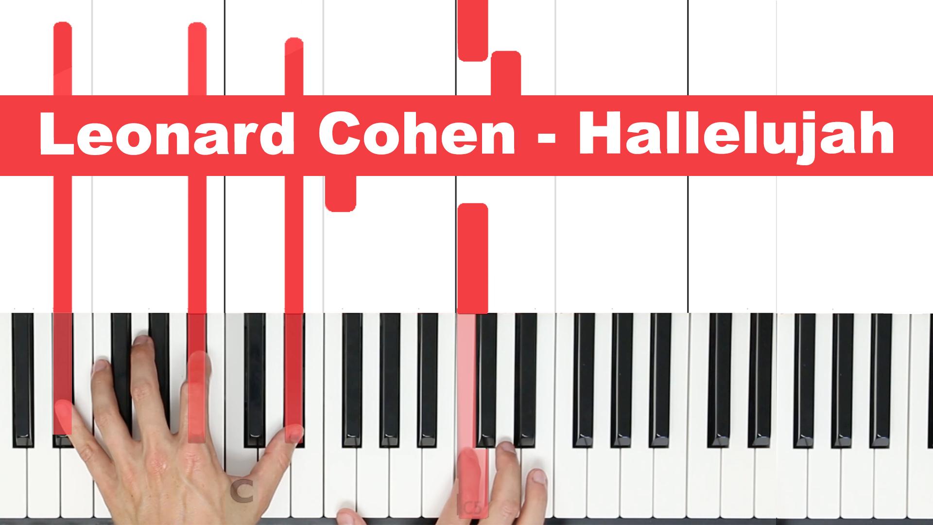 Leonard Cohen – Hallelujah – Easy