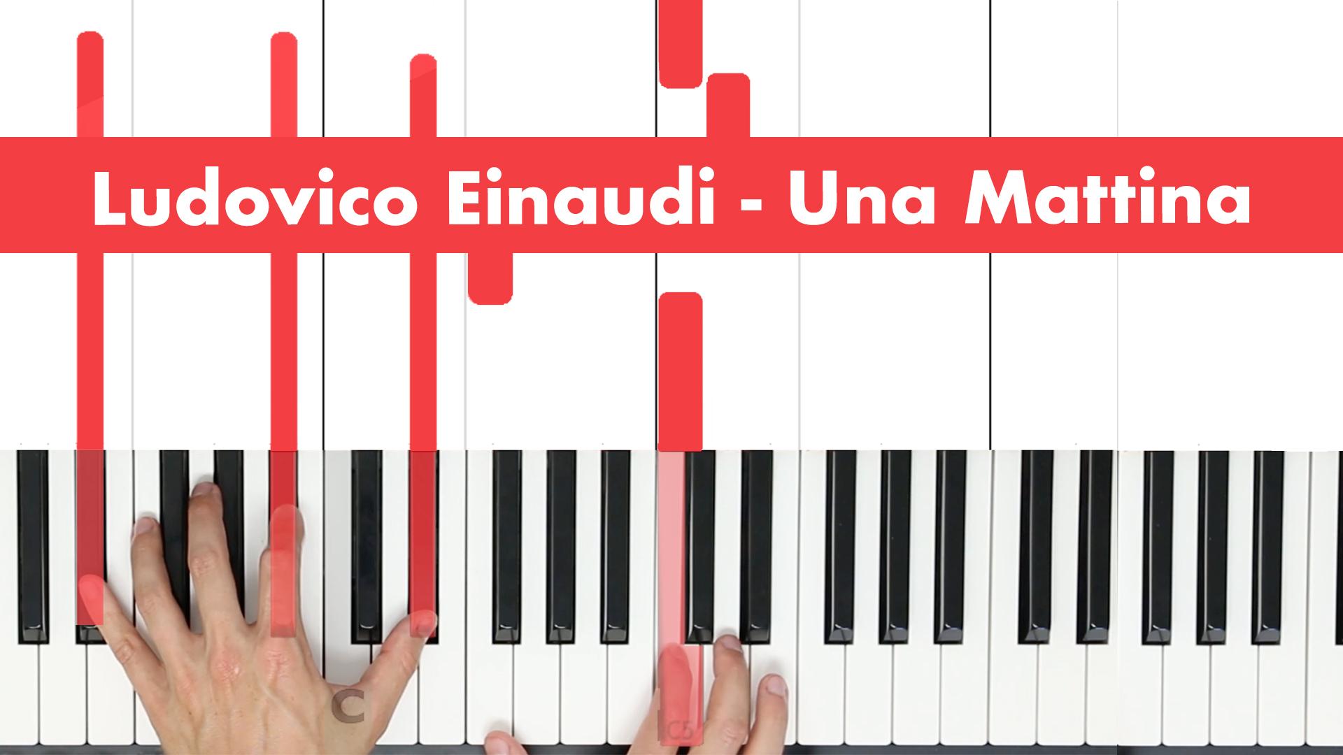 Ludovico Einaudi – Una Mattina – Original