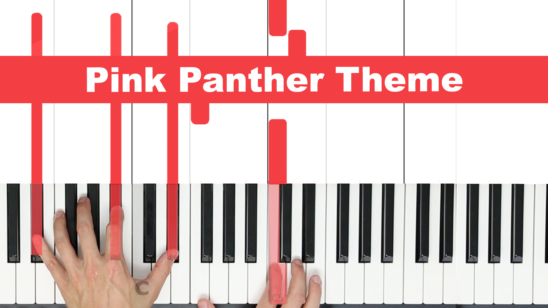 Pink Panther Theme – Easy