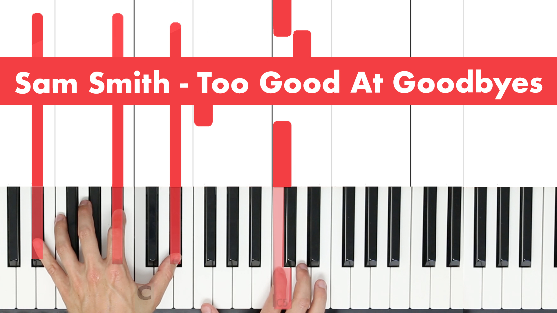 Sam Smith – Too Good At Goodbyes – Easy