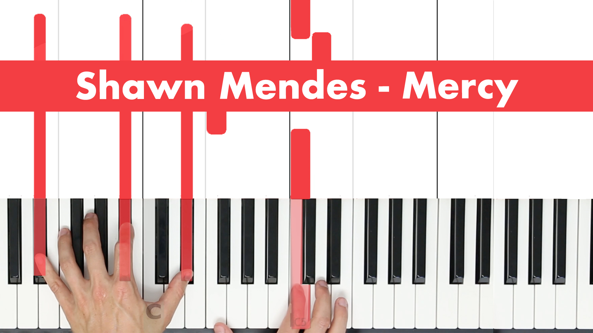 Shawn Mendes – Mercy – Vocal