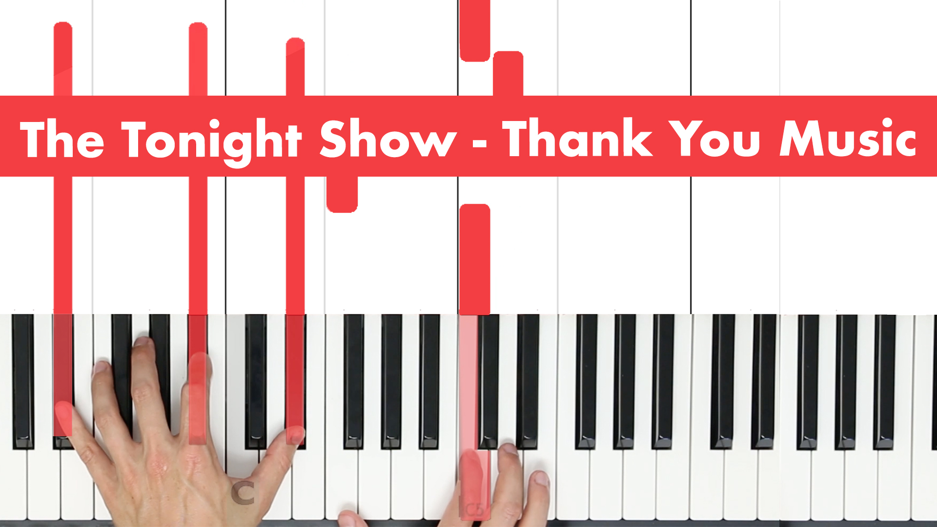 The Tonight Show – Thank You Music – Original