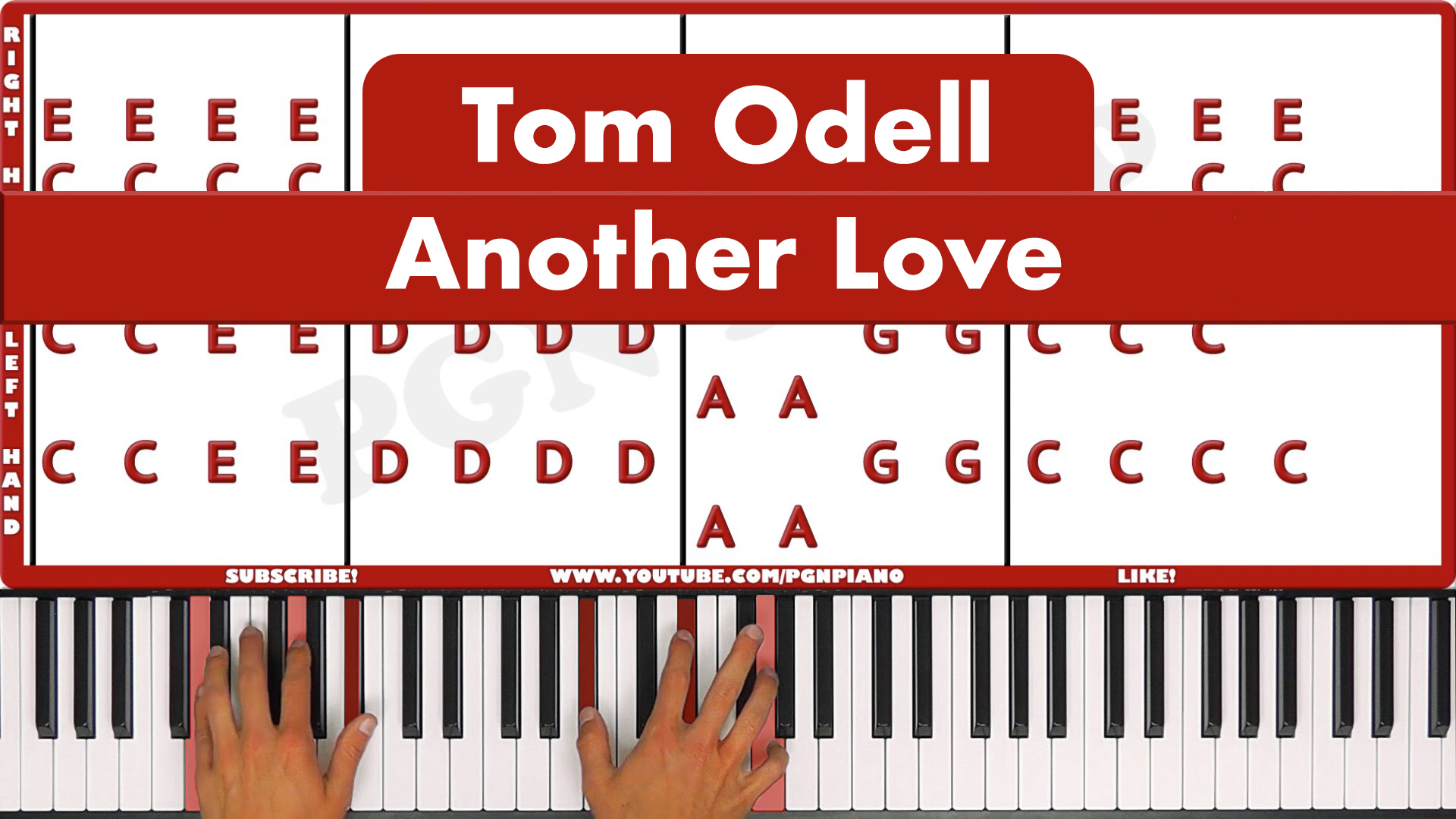 Tom Odell – Another Love – Original