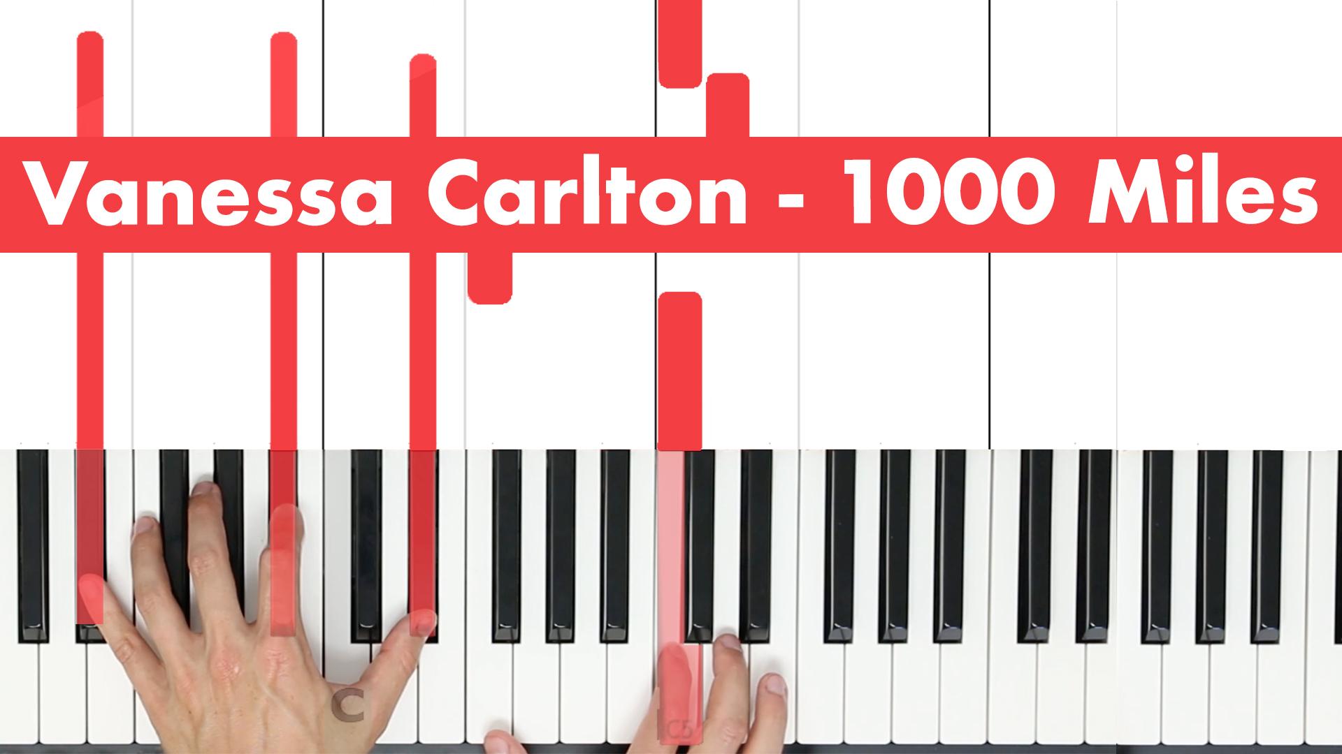 Vanessa Carlton – 1000 Miles – Lick
