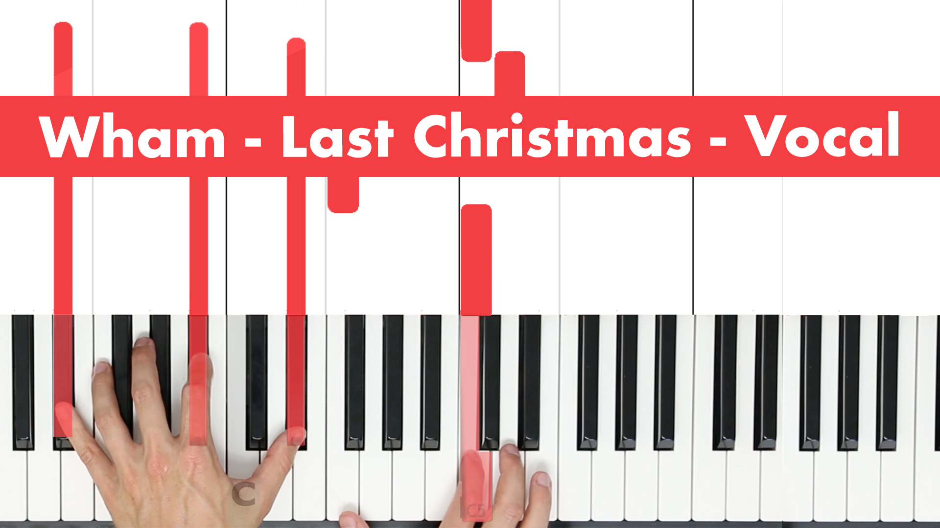 Wham – Last Christmas – Play VOCAL