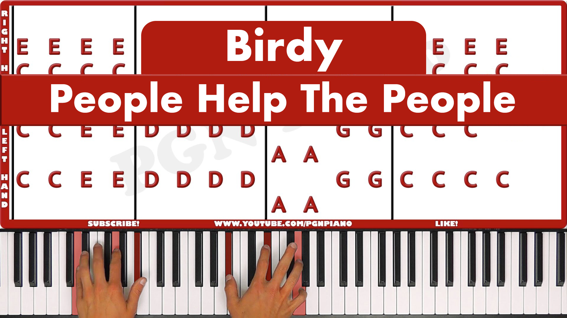Birdy – People Help The People – Original