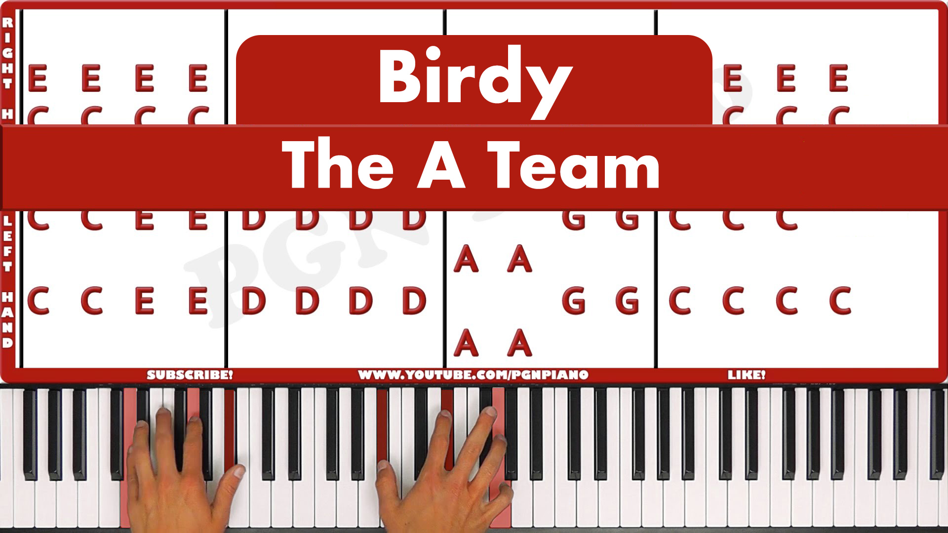 Birdy – The A Team – Original