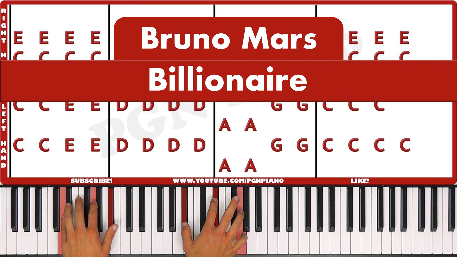 Bruno Mars – Billionaire – Easy