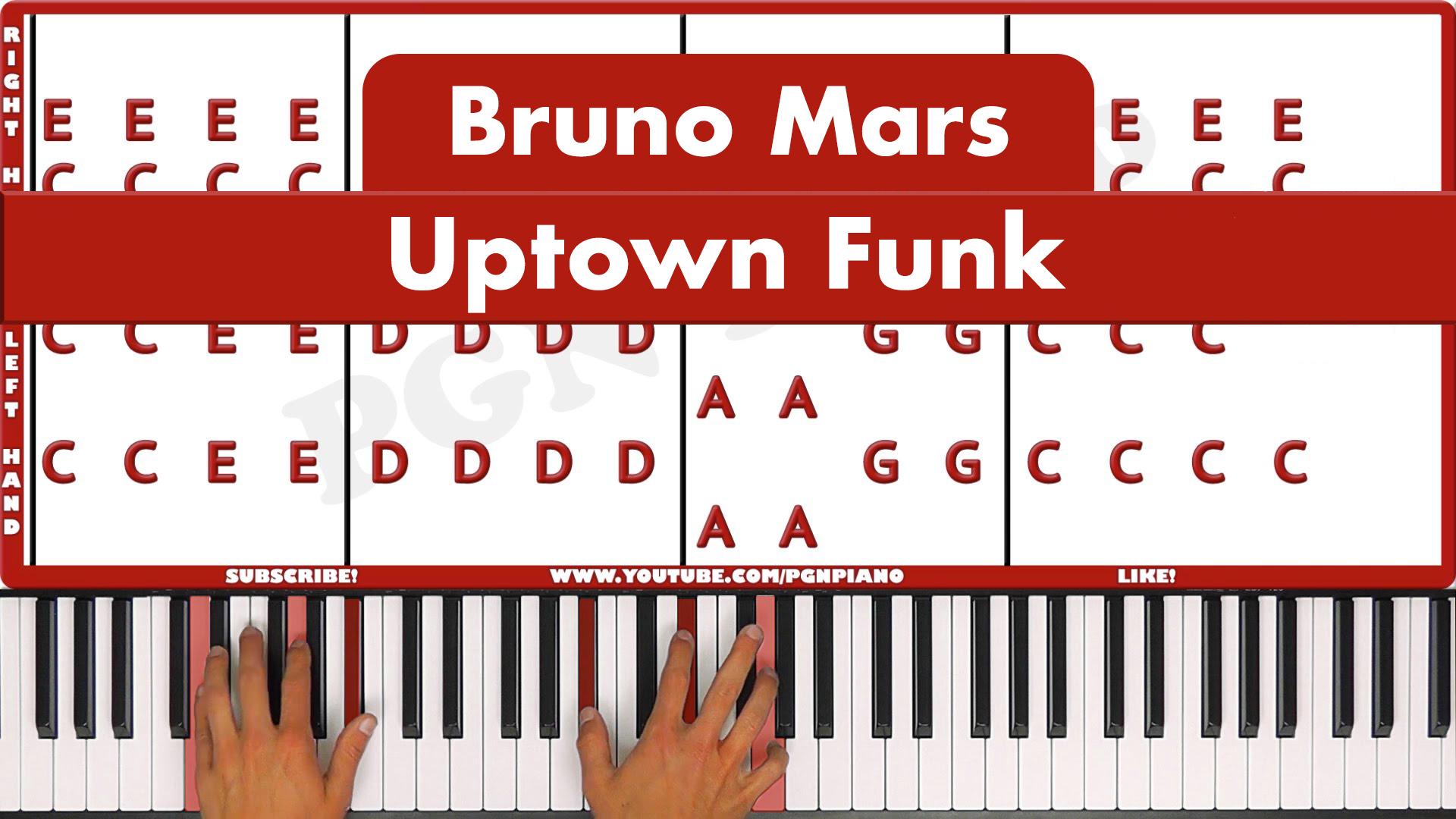 Bruno Mars  – Uptown Funk – Easy
