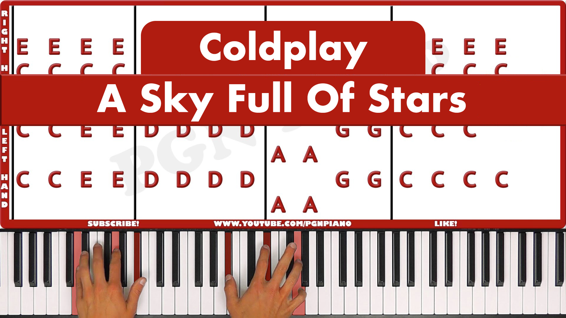 Coldplay – A Sky Full Of Stars – Original