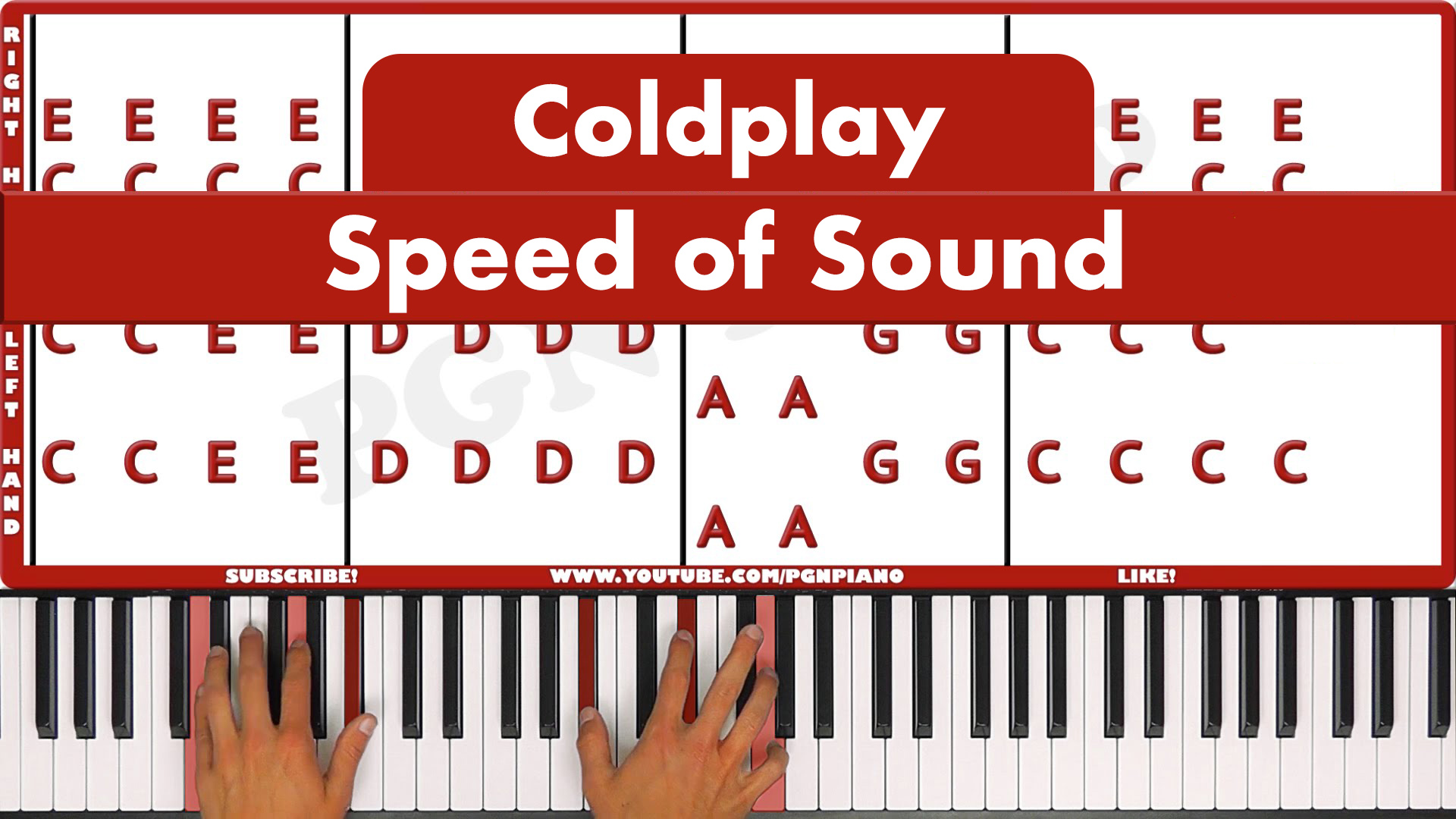 Coldplay – Speed Of Sound – Easy