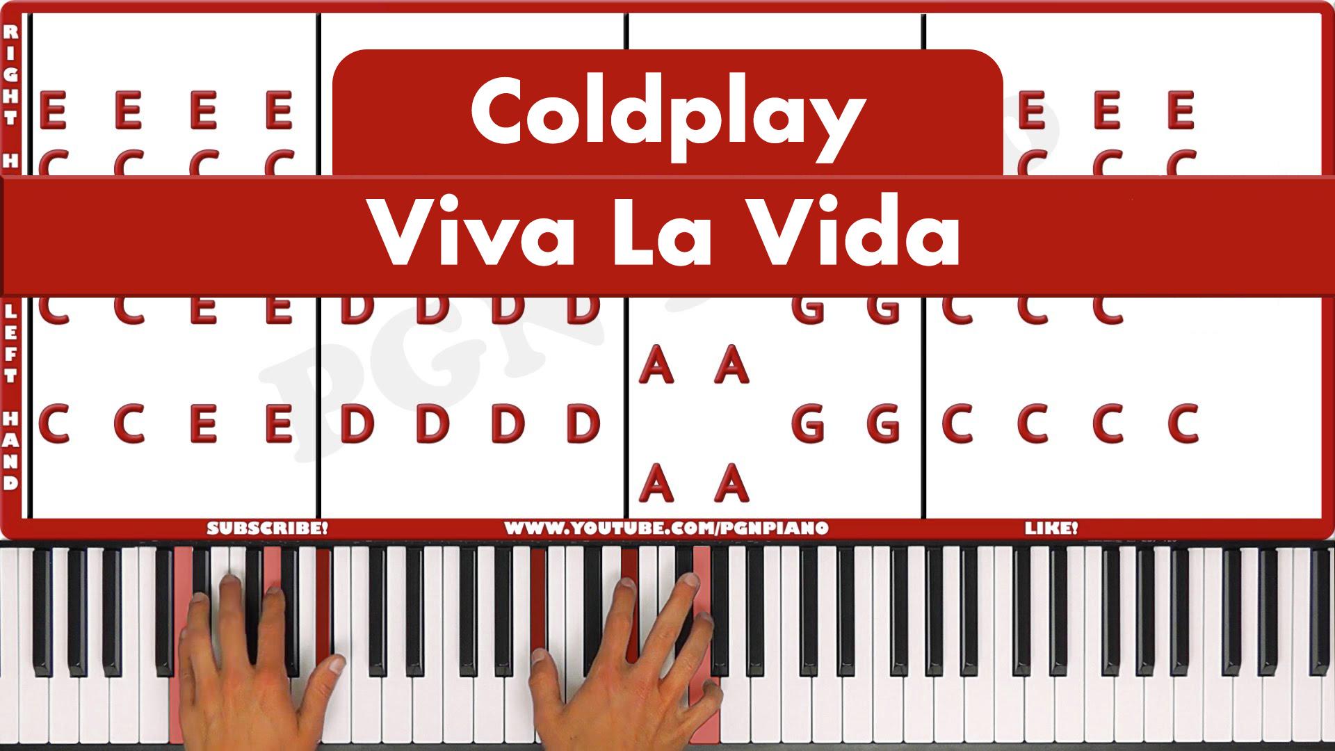 Coldplay – Viva La Vida – Easy