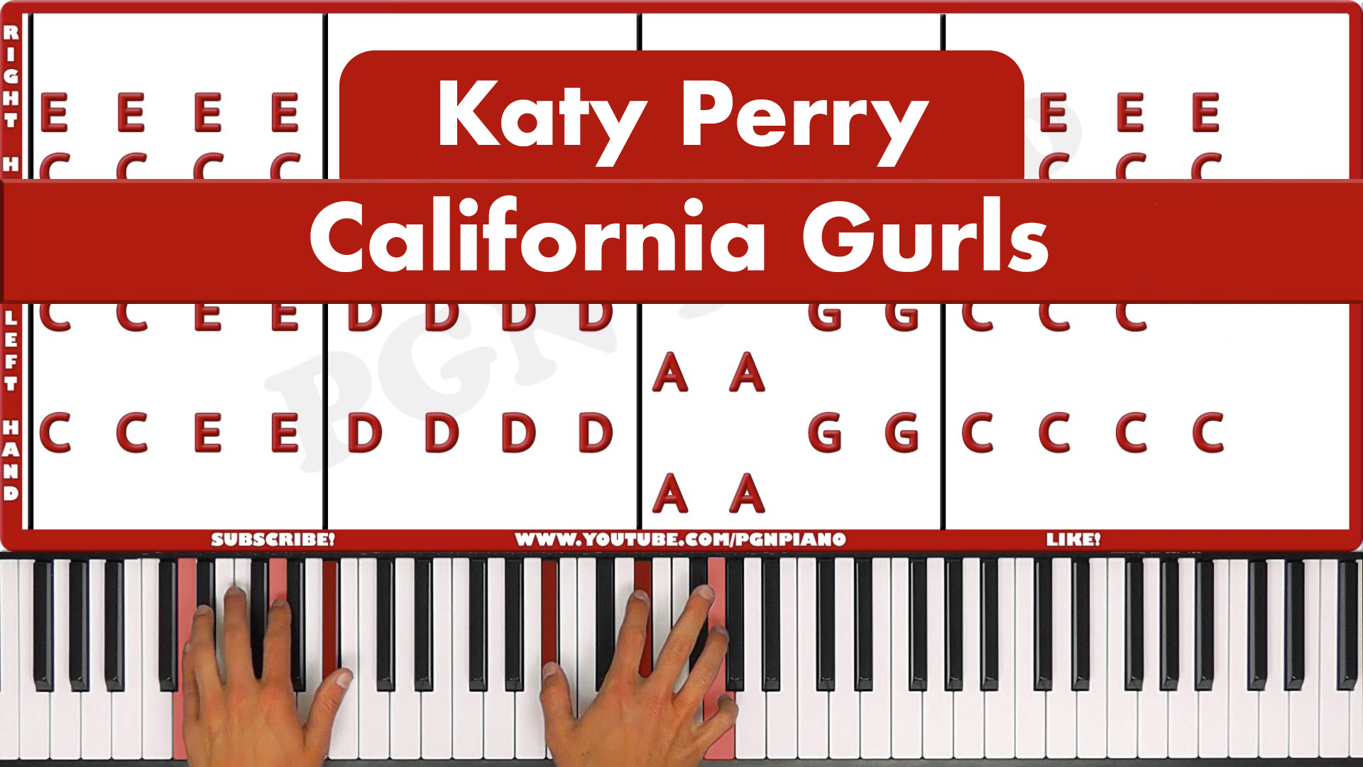 Katy Perry – California Gurls – Easy