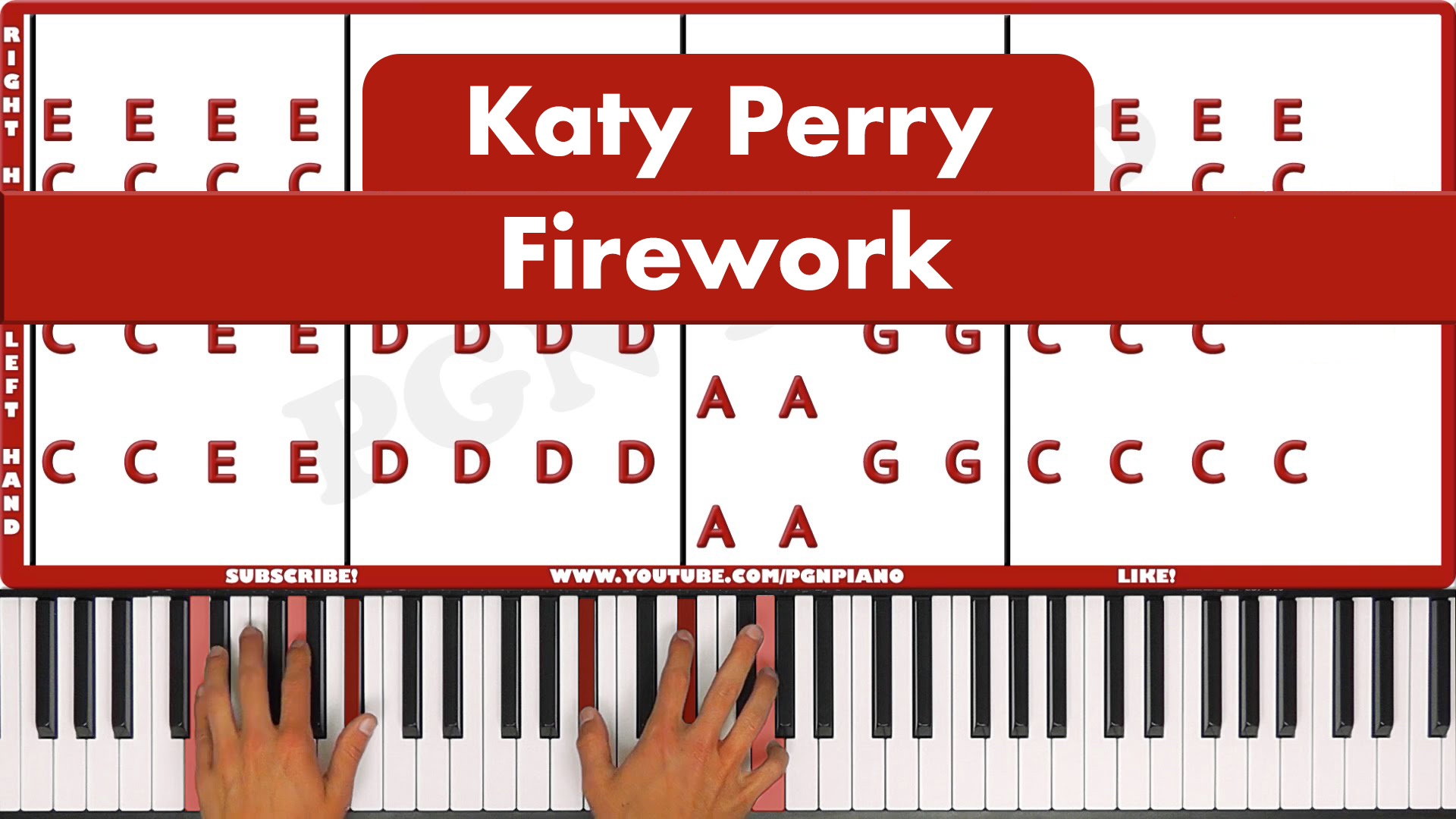 Katy Perry – Firework – Easy