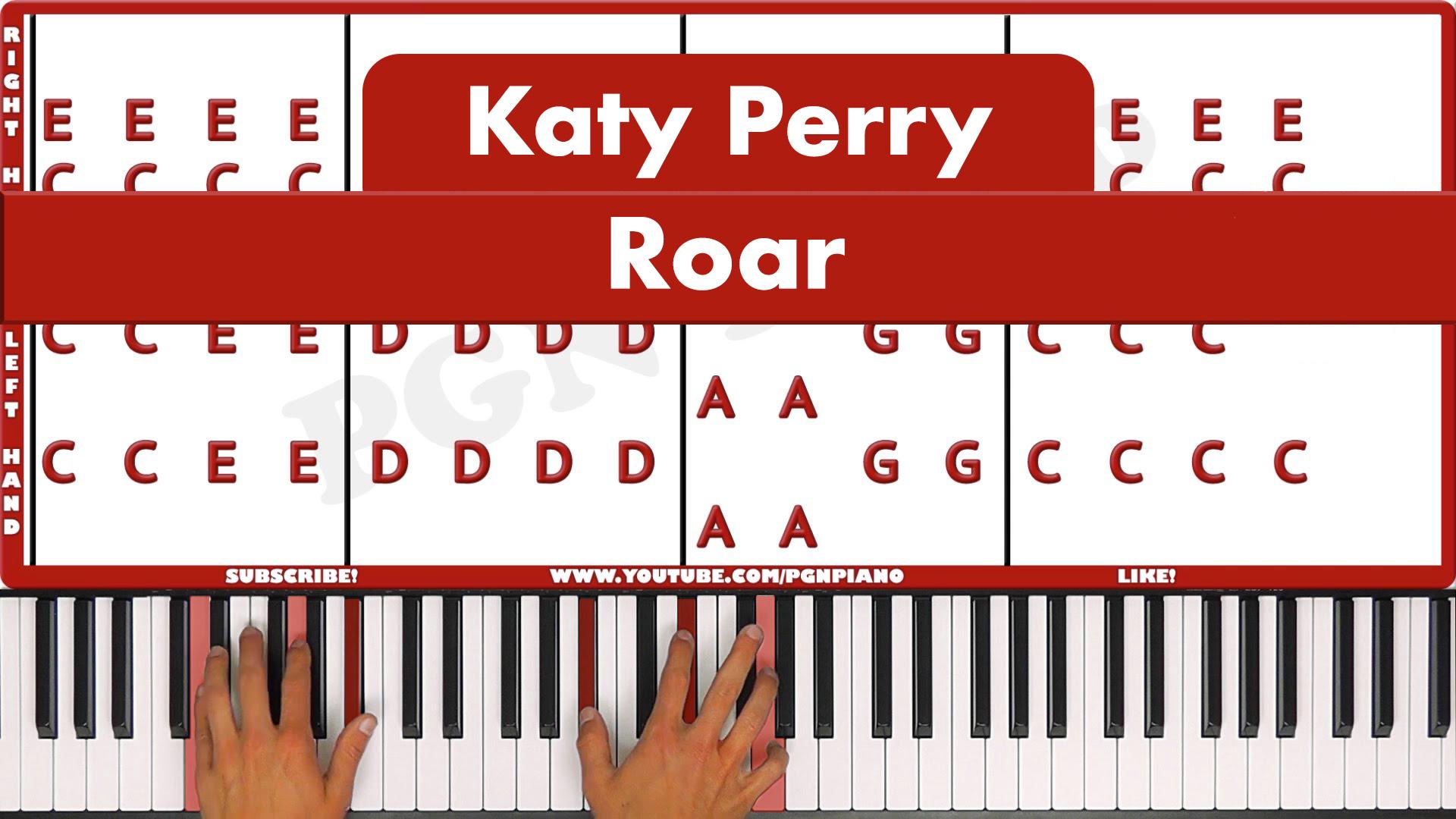 Katy Perry – Roar – Easy