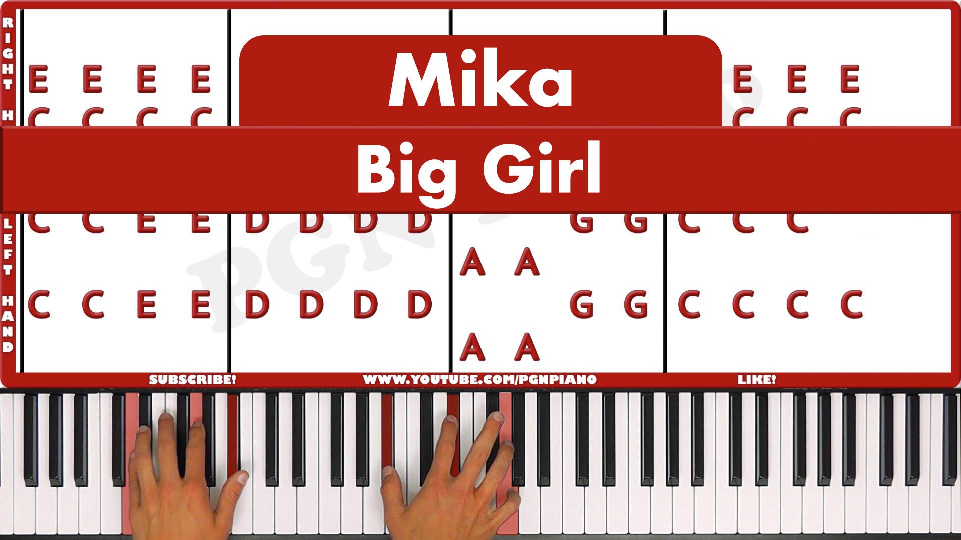Mika – Big Girl – Easy