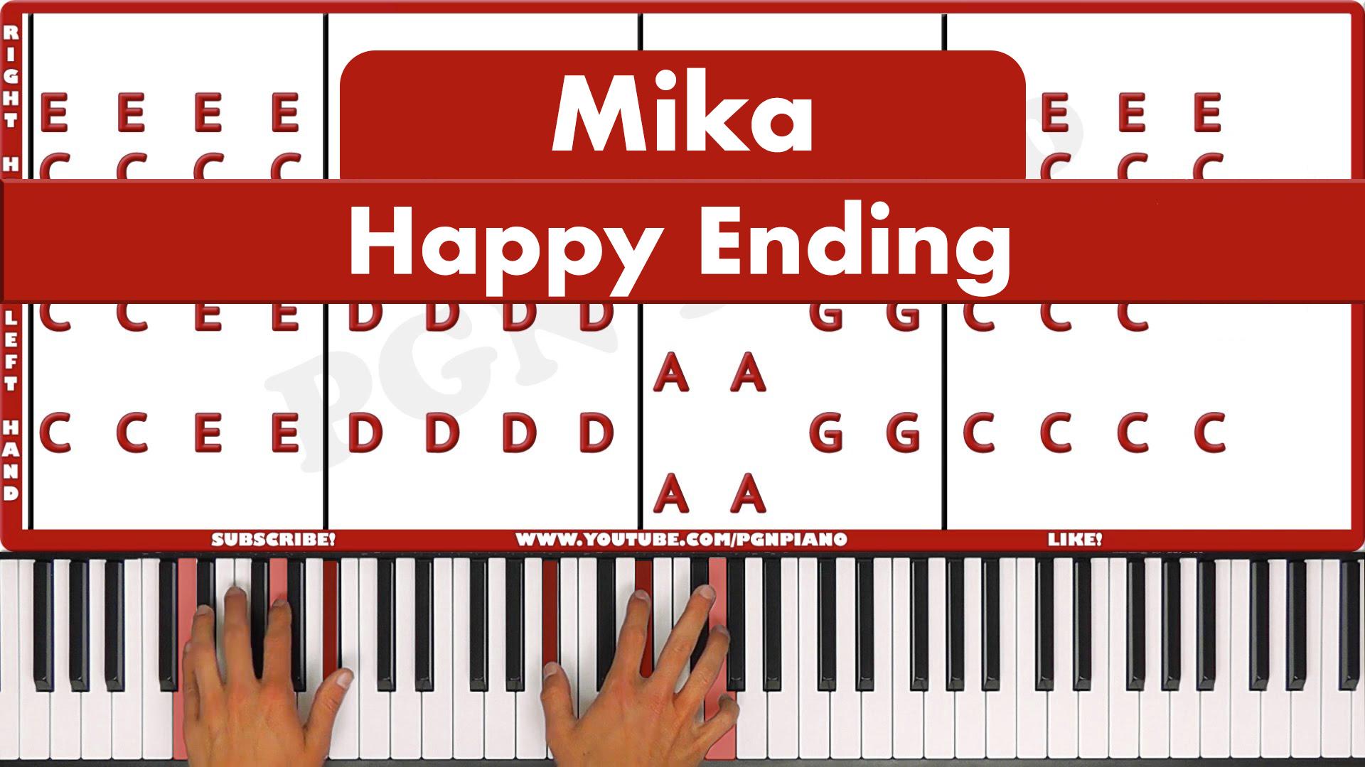 Mika – Happy Ending – Easy