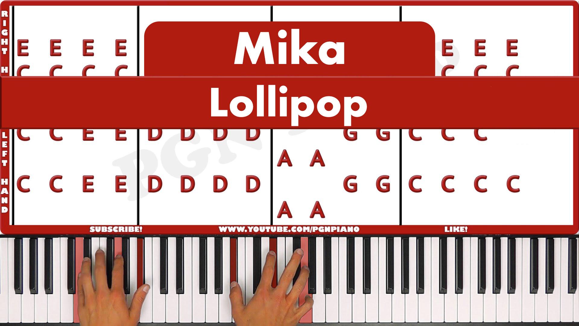 Mika – Lollipop – Easy