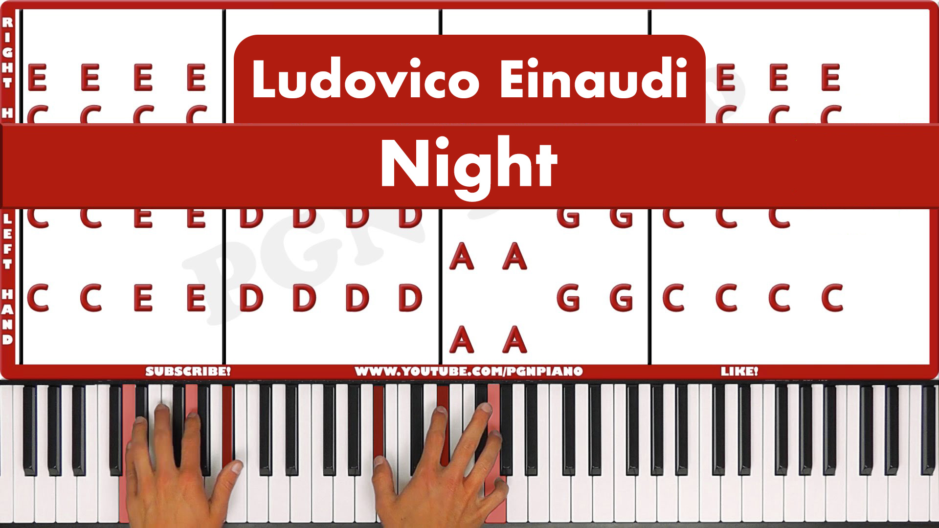 Ludovico Einaudi – Night – Original