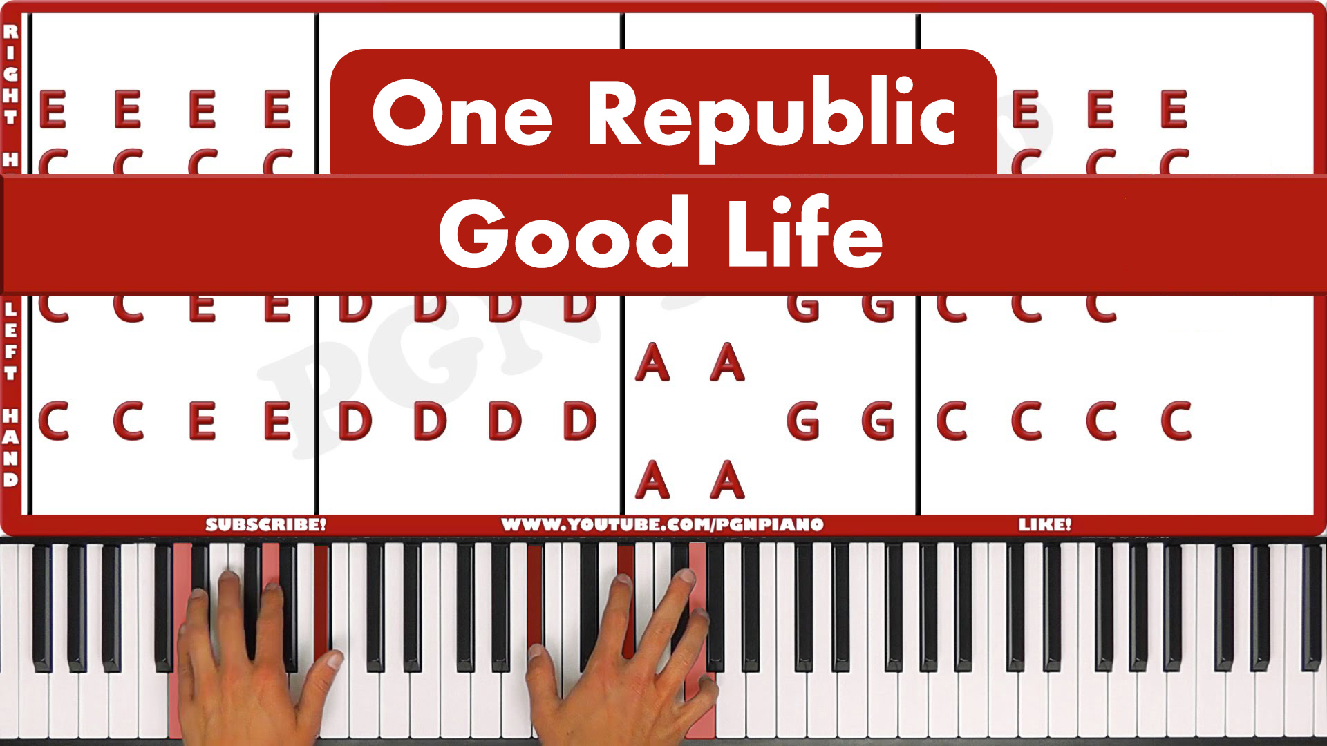 One Republic – Good Life – Easy