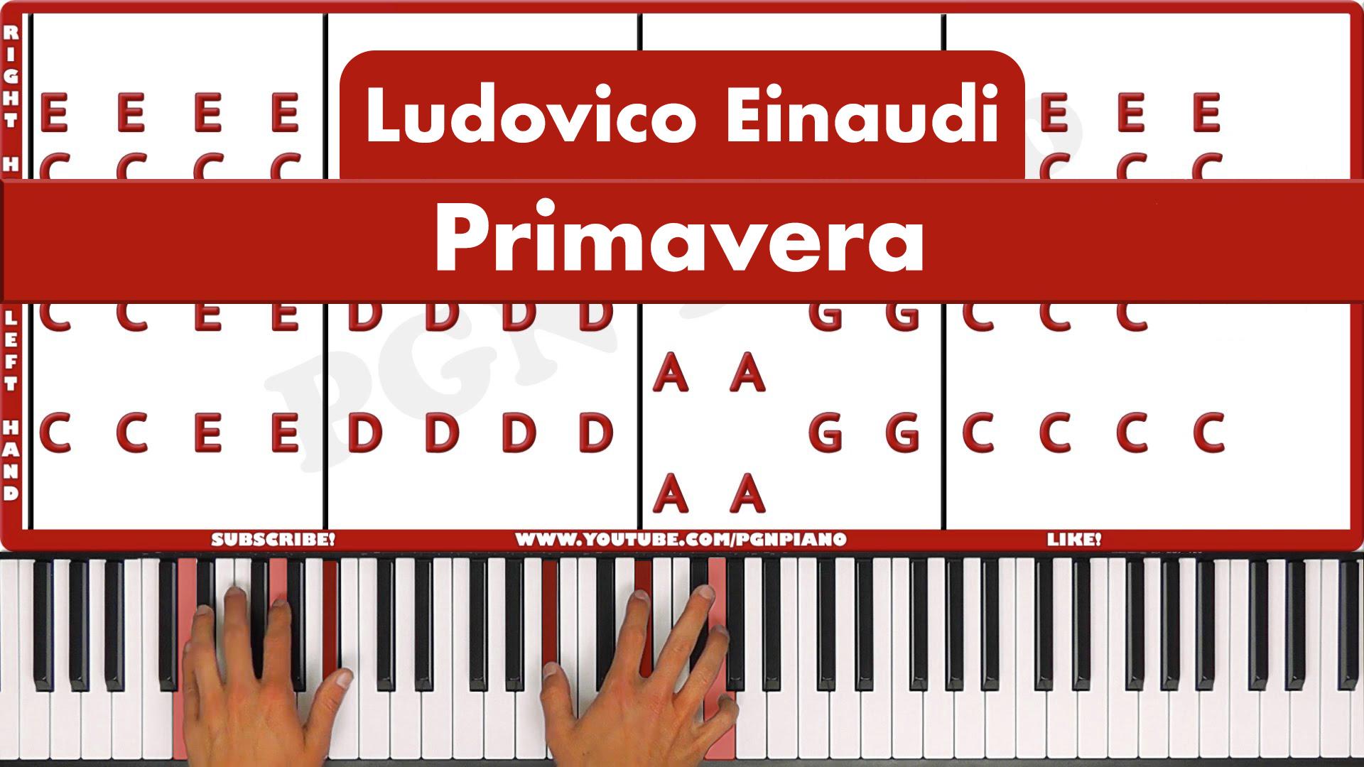 Ludovico Einaudi – Primavera – Original