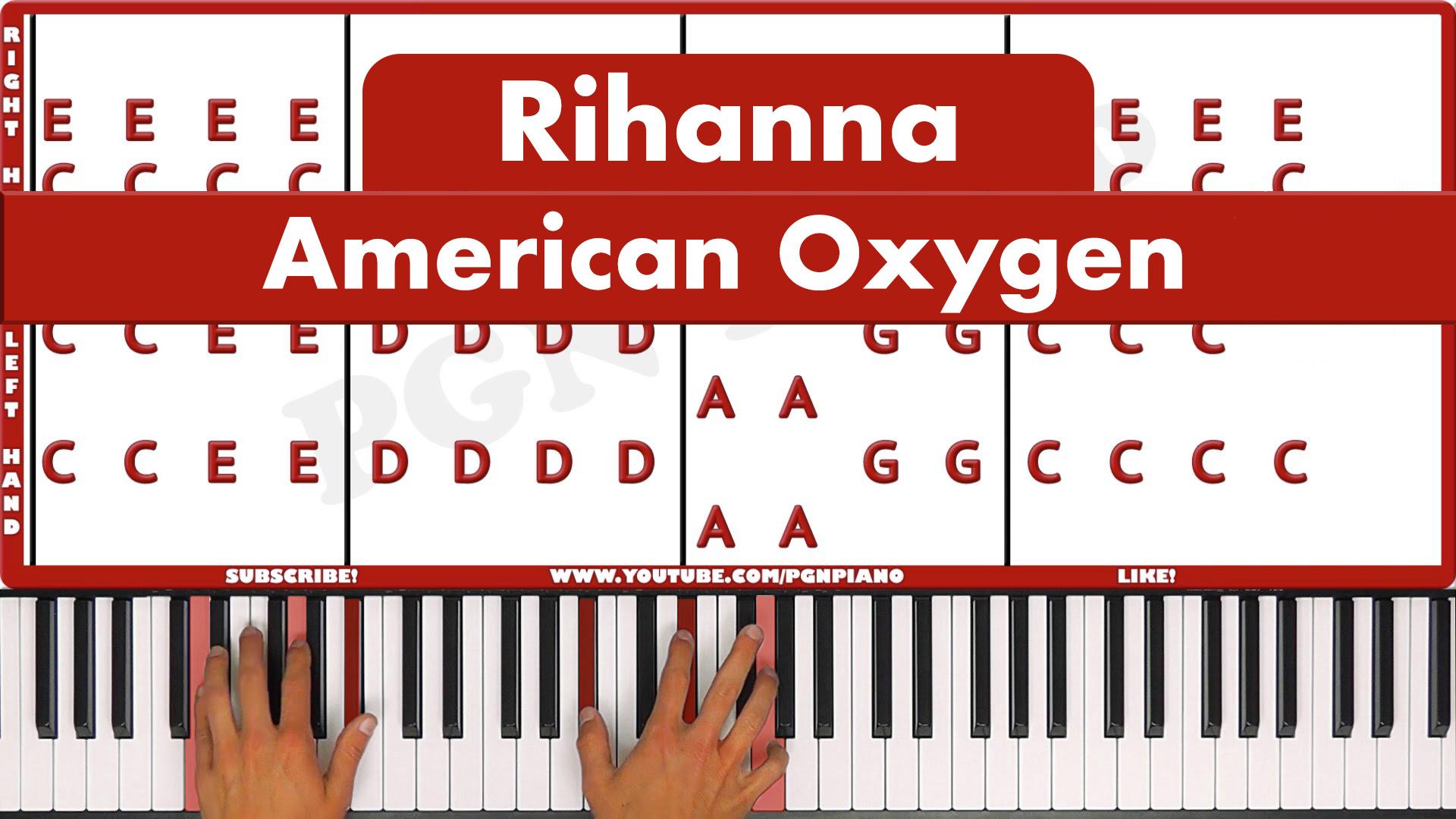 Rihanna – American Oxygen – Easy