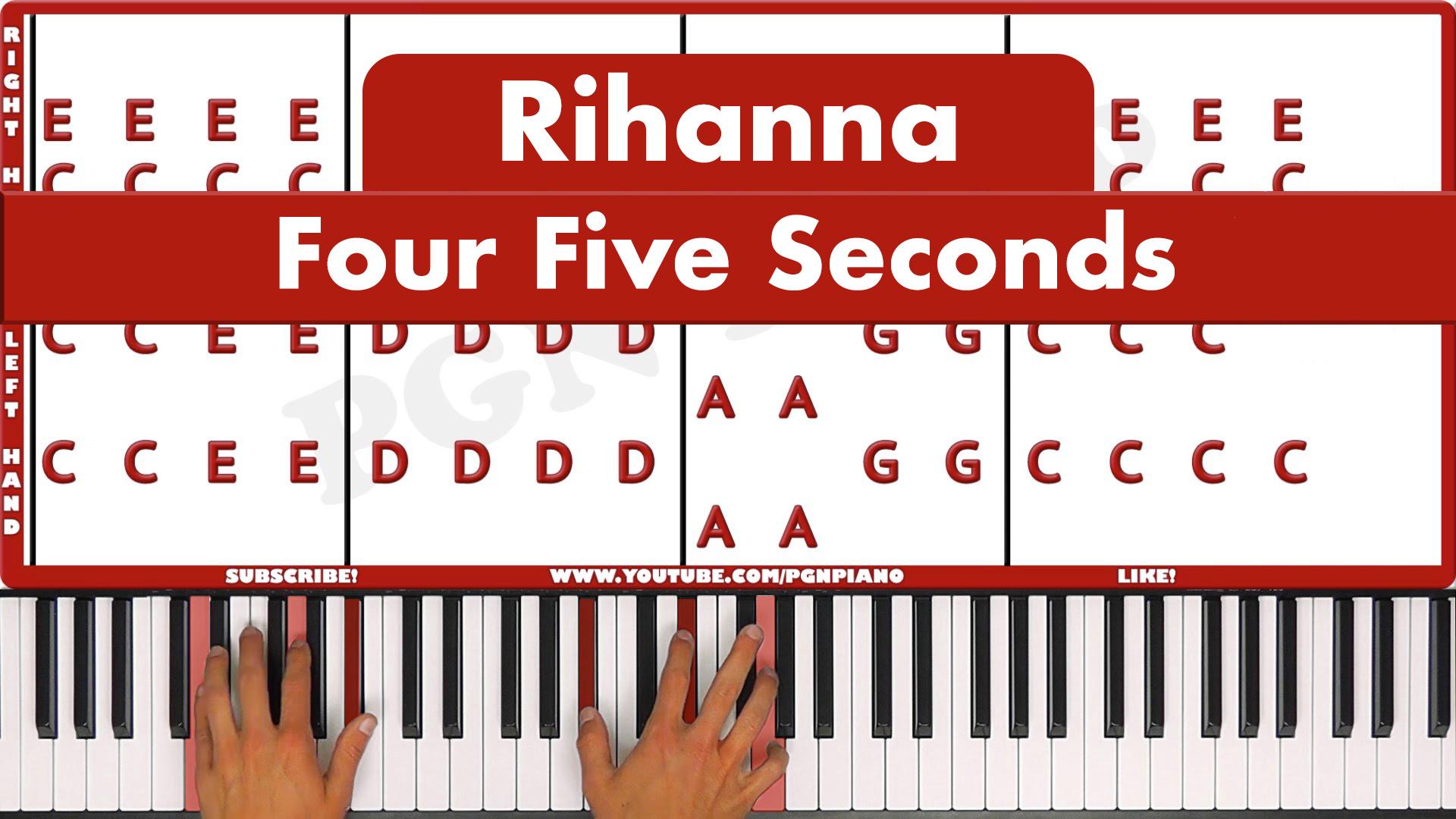 Rihanna – Four Five Seconds – Easy