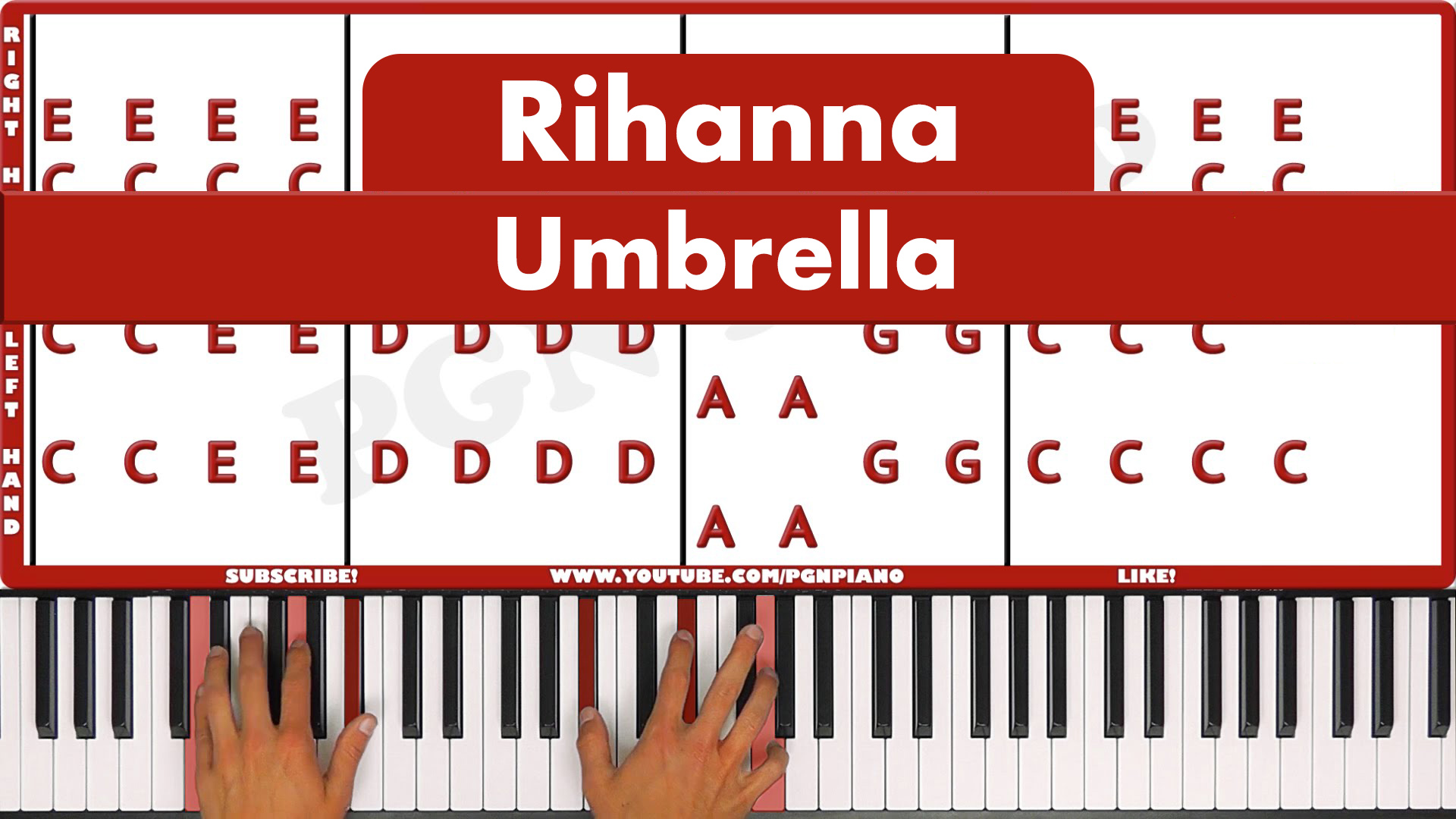 Rihanna – Umbrella – Easy
