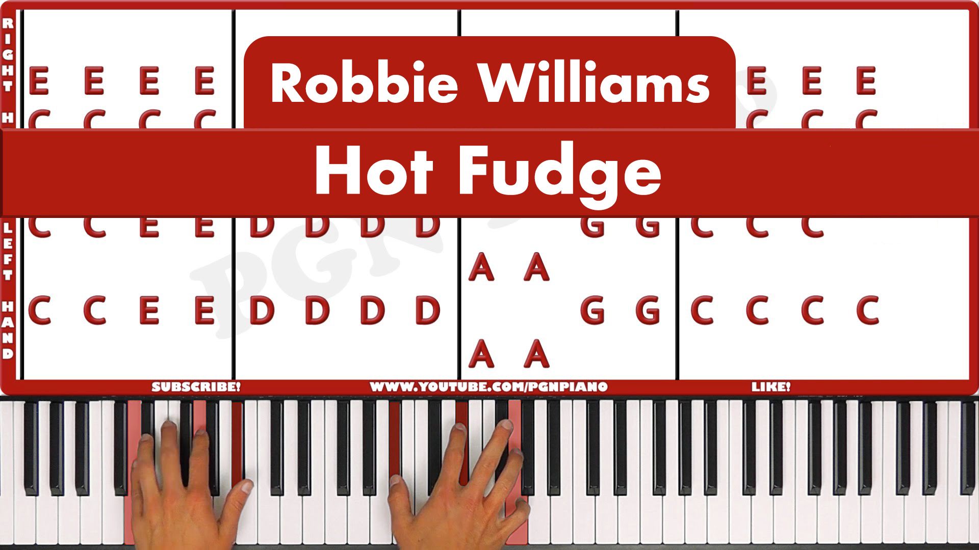 Robbie Williams – Hot Fudge – Easy