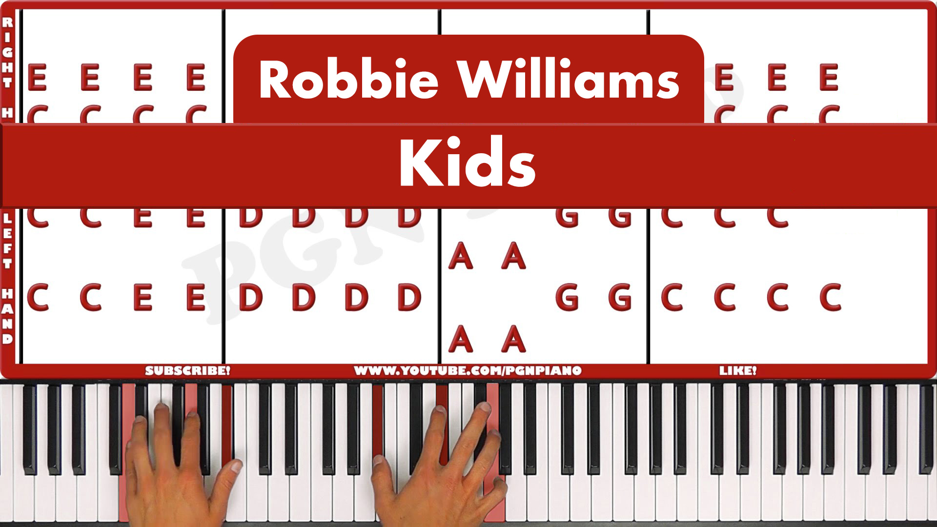 Robbie Williams – Kids – Easy