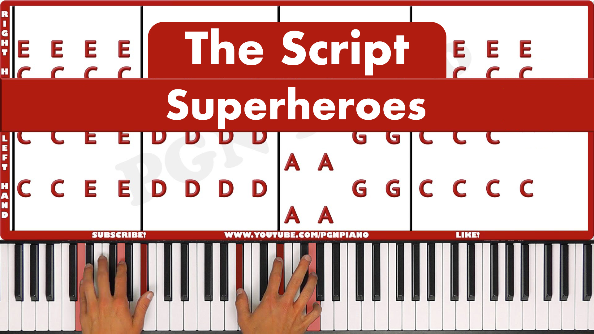 The Script – Superheroes – Vocal
