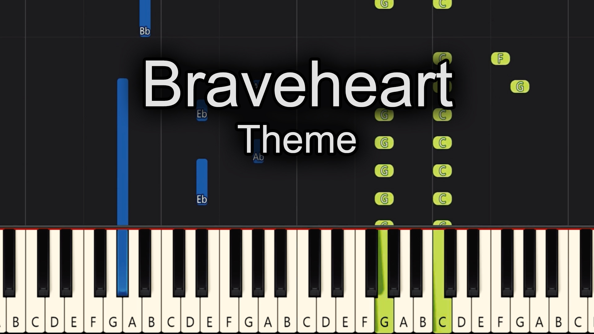 Braveheart – Theme – Advanced