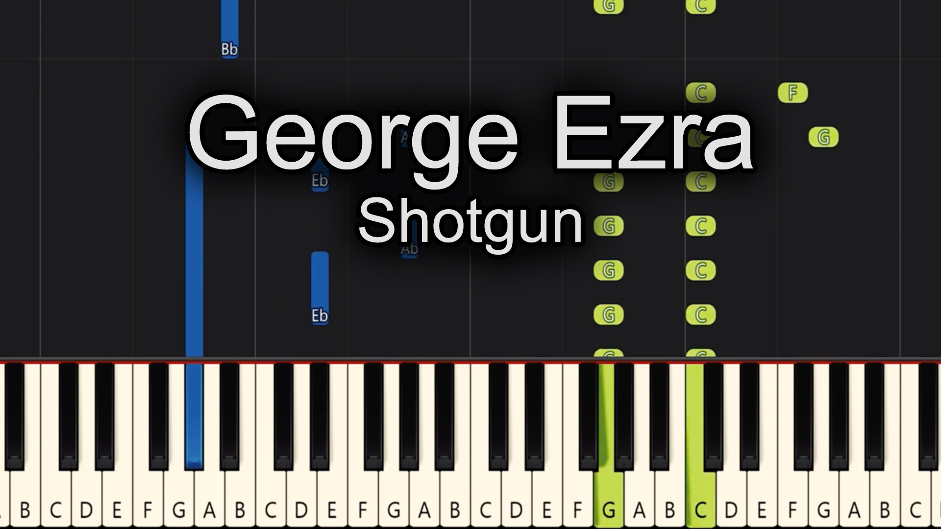 George Ezra – Shotgun – Advanced