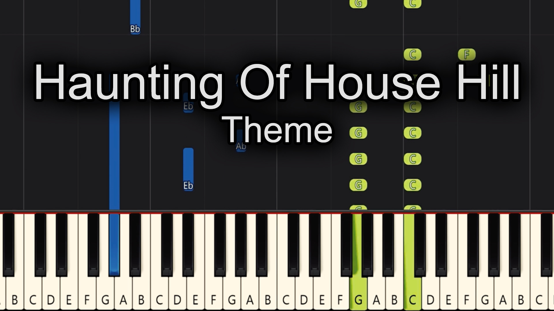 Haunting Of House Hill – Theme – Advanced