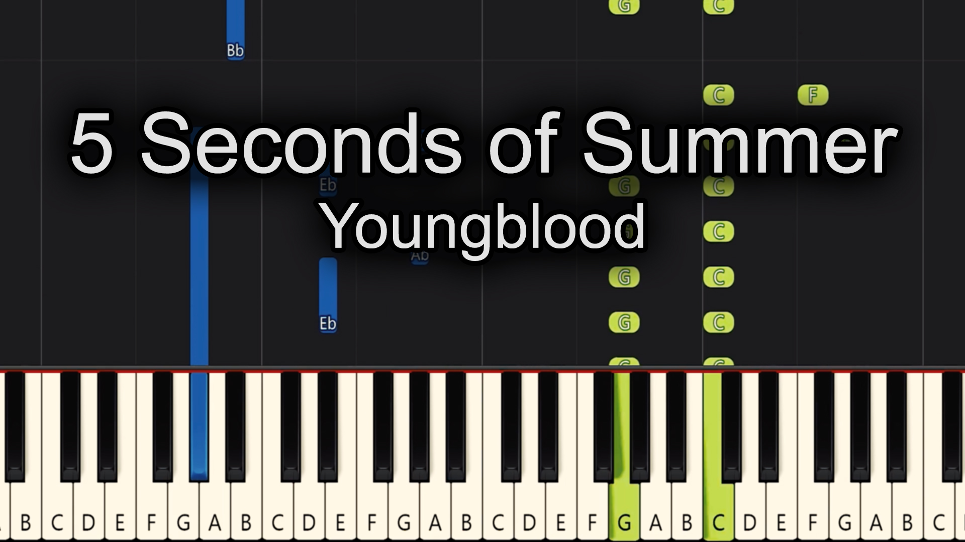 5 Seconds of Summer – Youngblood – Advanced