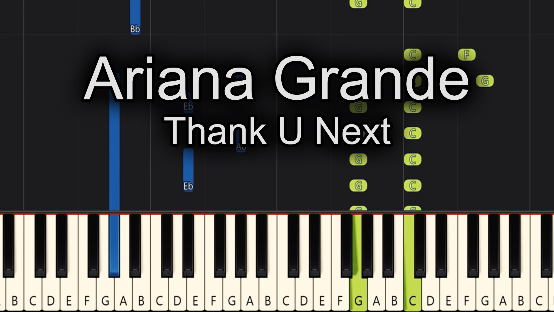 Ariana Grande – Thank U Next – Advanced