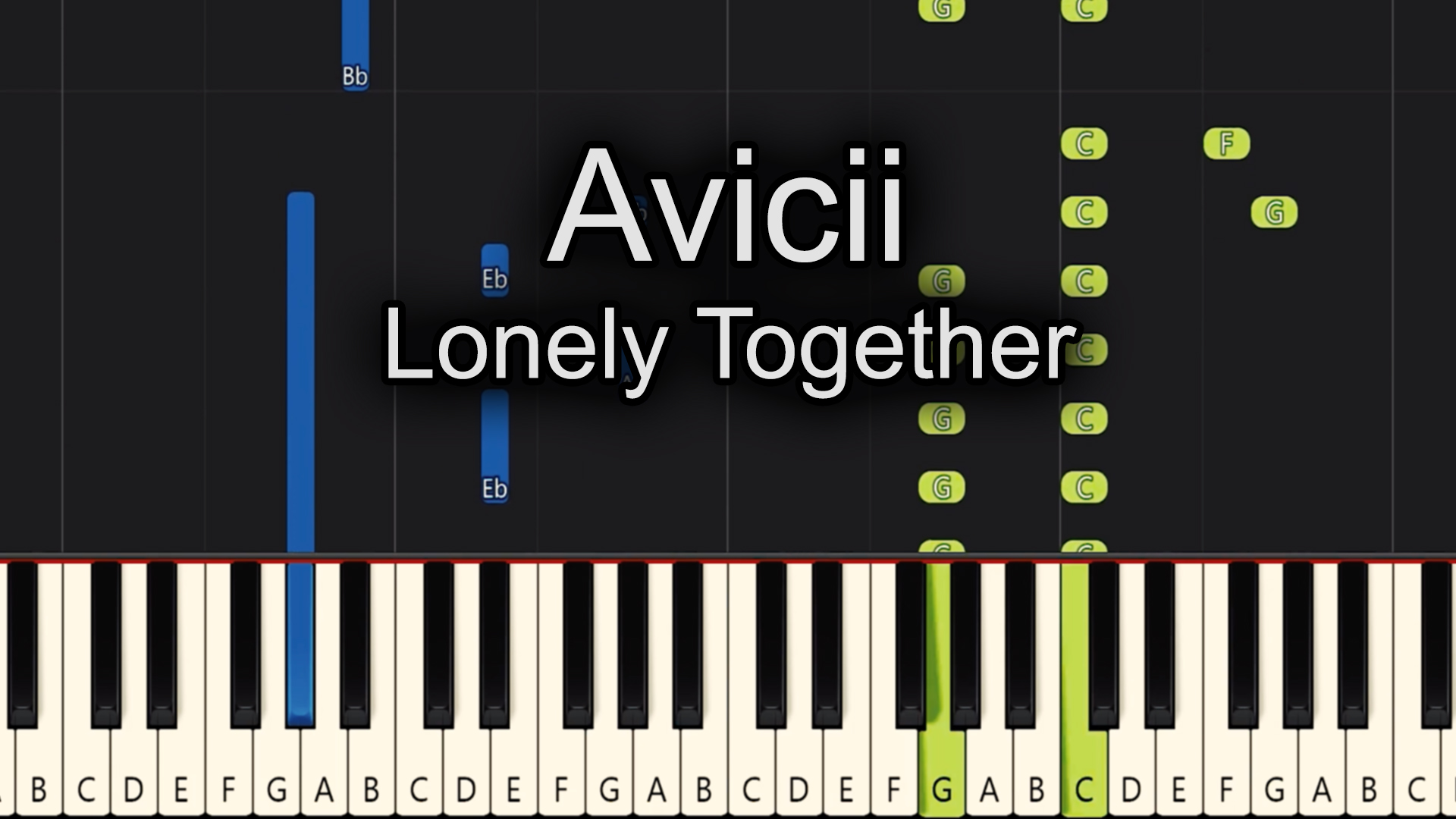 Avicii – Lonely Together – Advanced