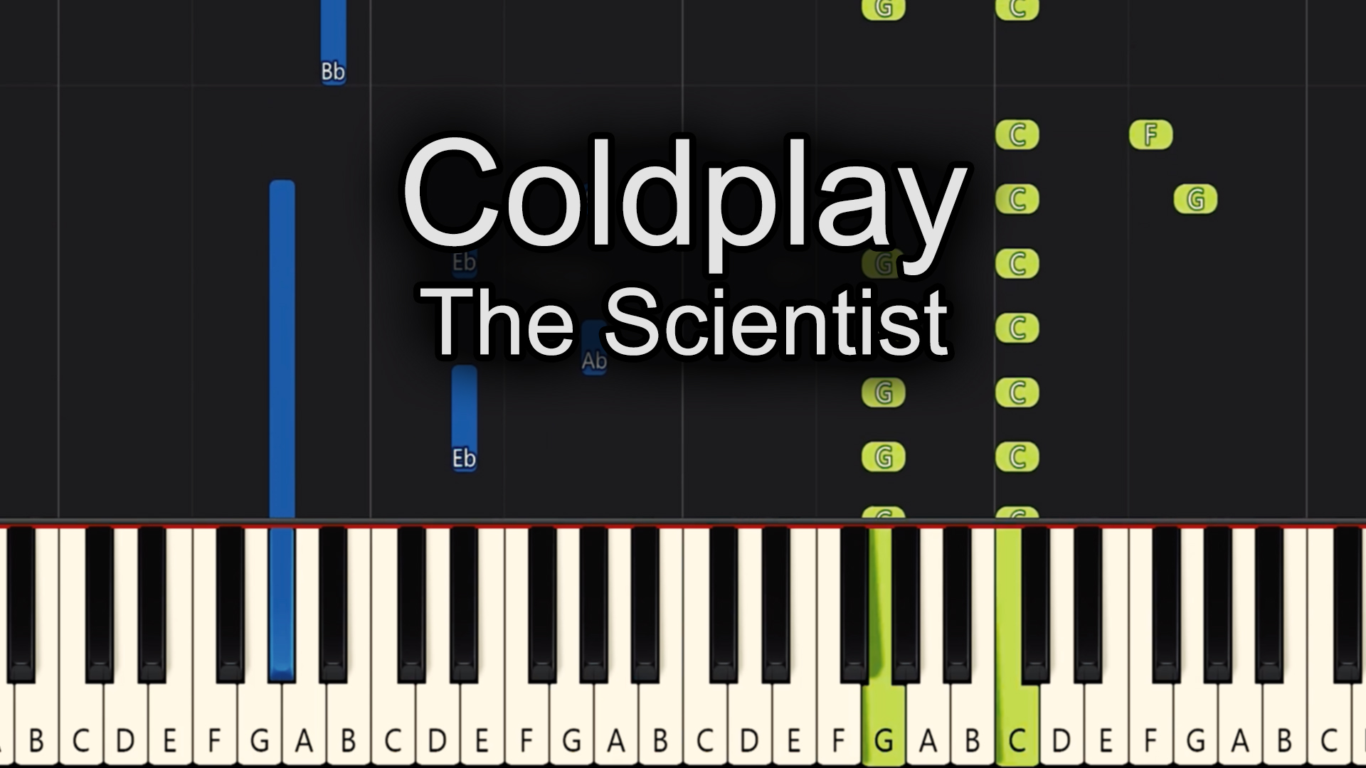 Coldplay – The Scientist – Advanced