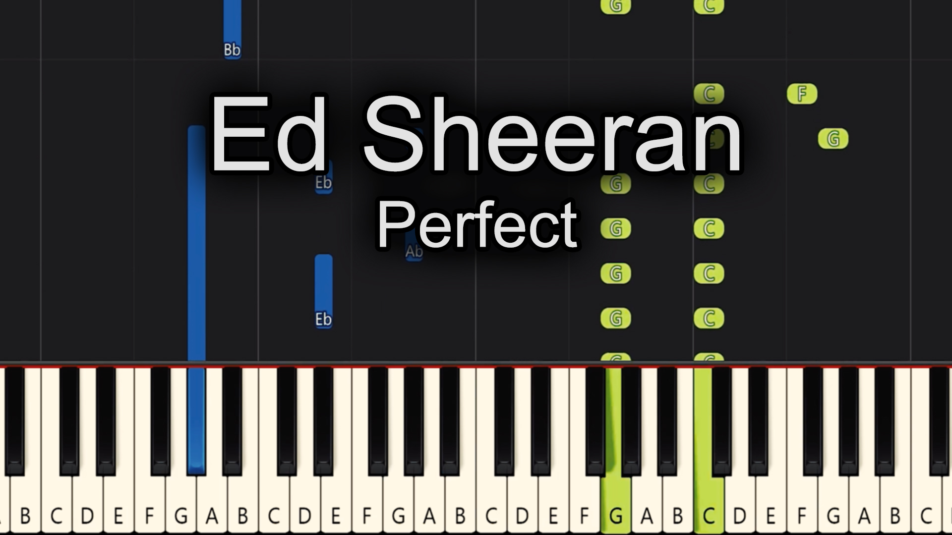 Ed Sheeran – Perfect – Advanced