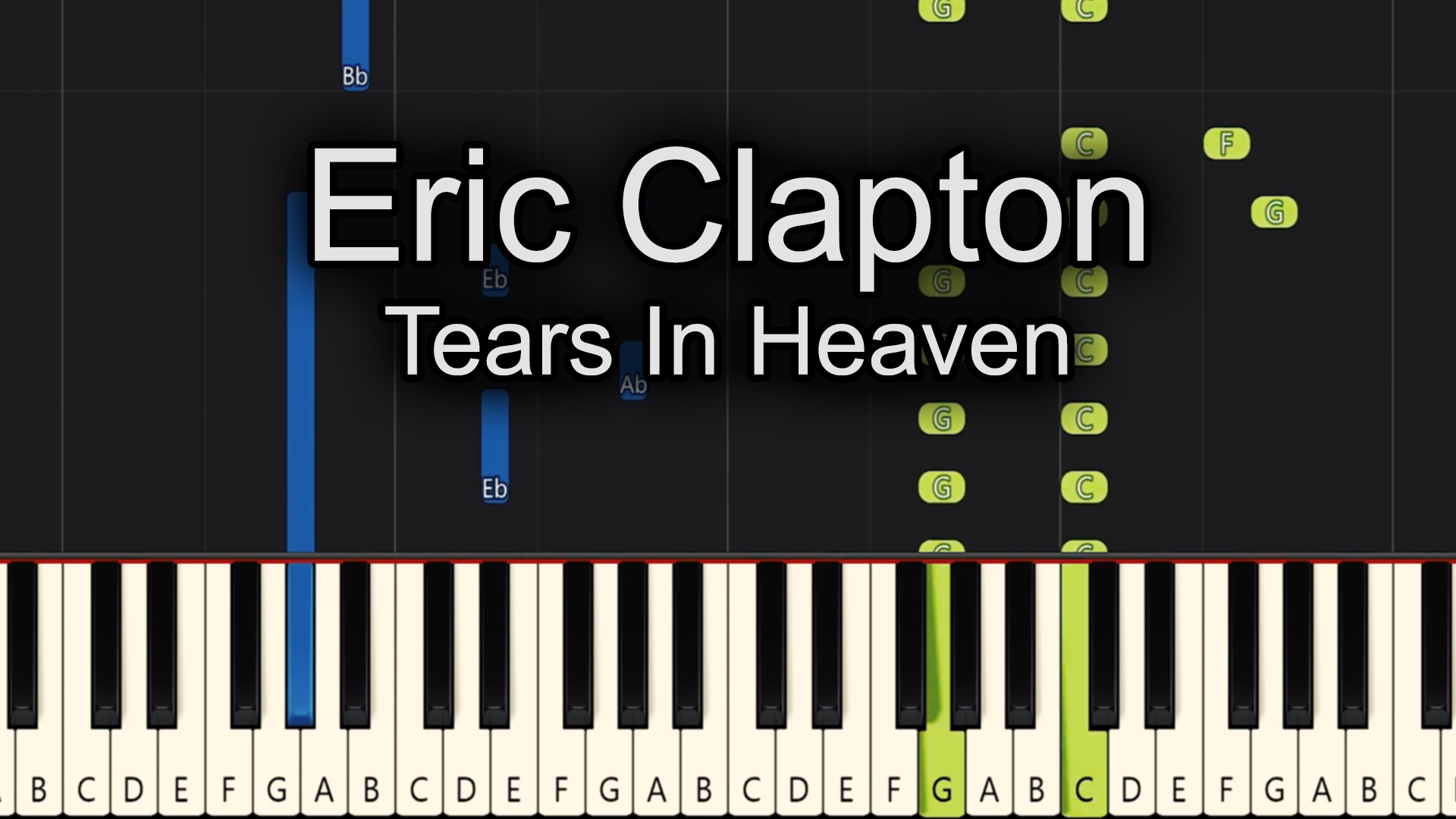 Eric Clapton – Tears In Heaven – Advanced