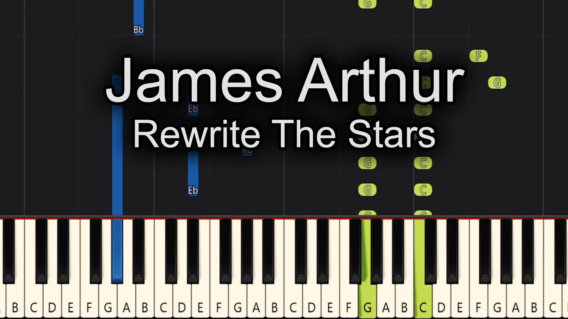 James Arthur – Rewrite The Stars – Advanced